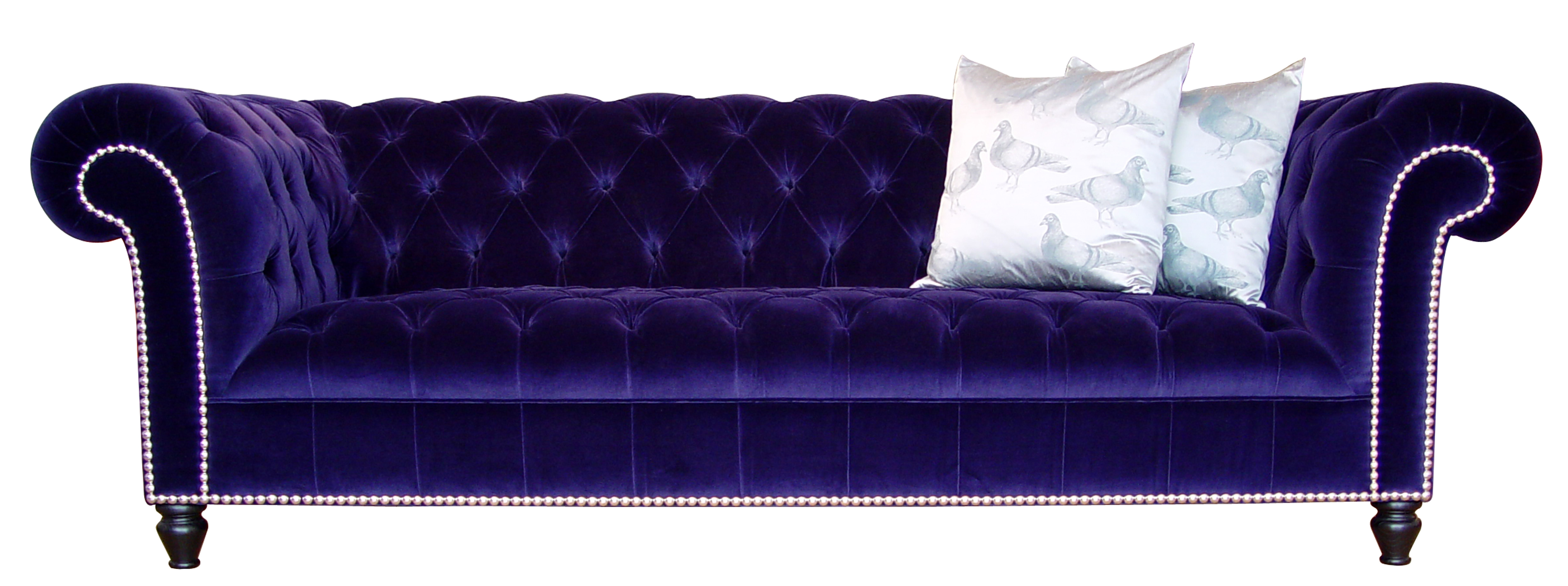 Featured Photo of Velvet Purple Sofas
