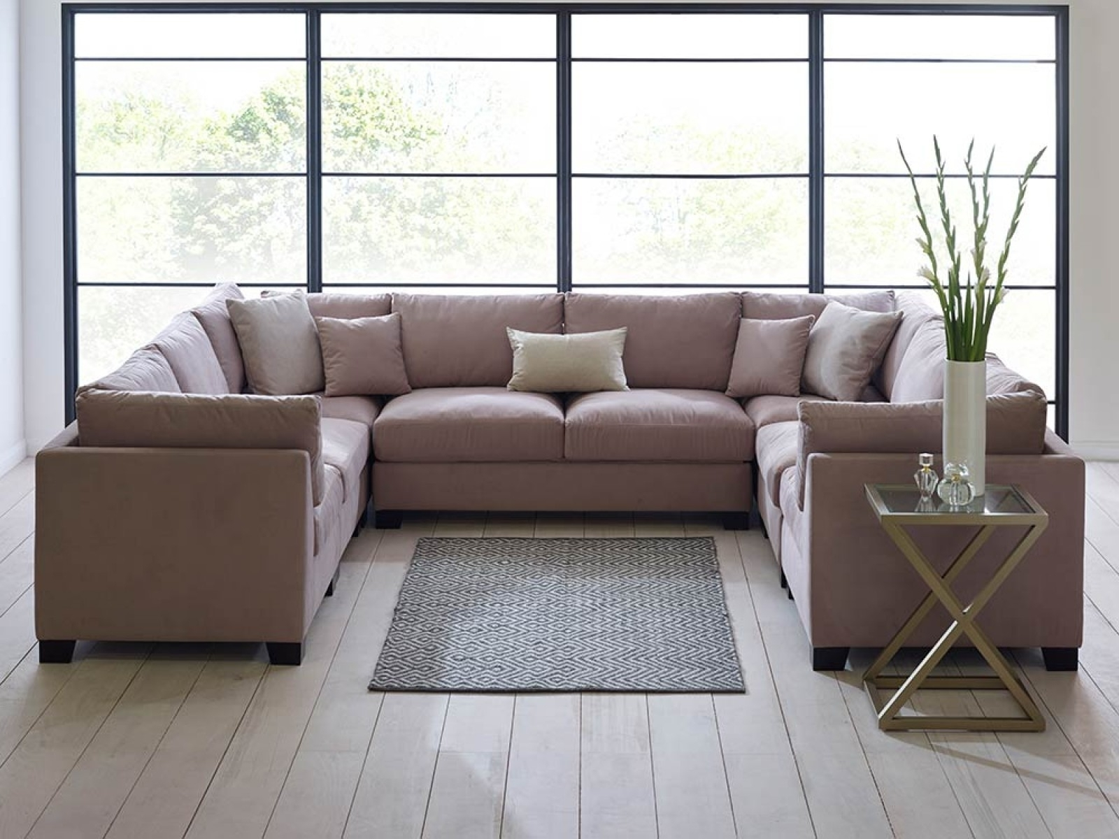 Sofa Set Pertaining To Modern U Shaped Sectional Sofas (View 12 of 20)