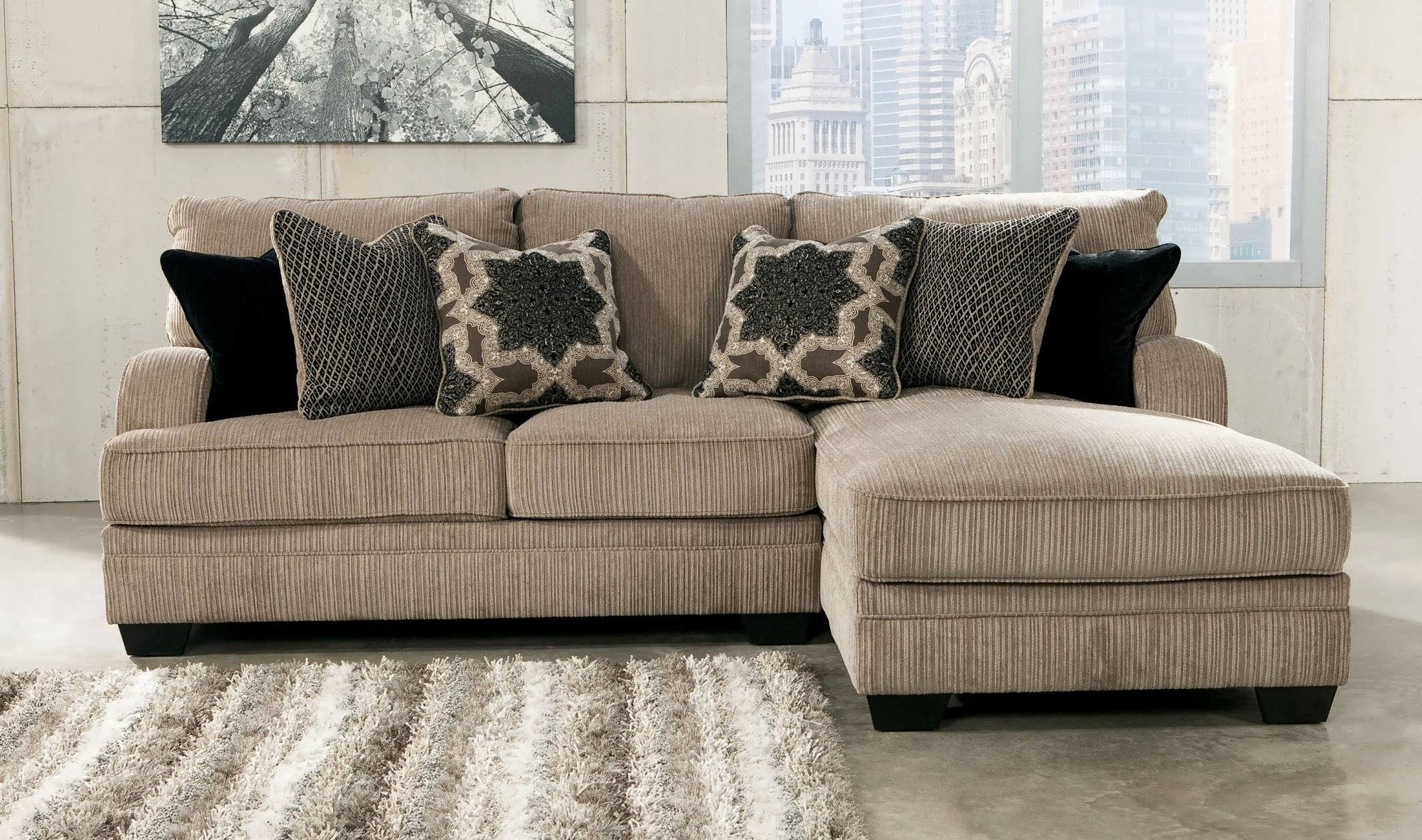 Sofa : Sleeper Sectional Sofa For Small Spaces 2 Piece Sectional Inside Most Recently Released Sectional Sofas For Small Rooms (View 16 of 20)