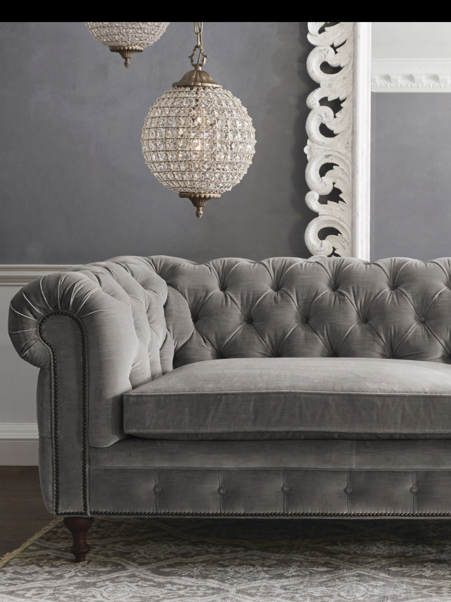 Sofa : Sleeper Sofa With Tufted Back Gray Tufted Settee Cheap Intended For Widely Used Affordable Tufted Sofas (View 15 of 20)