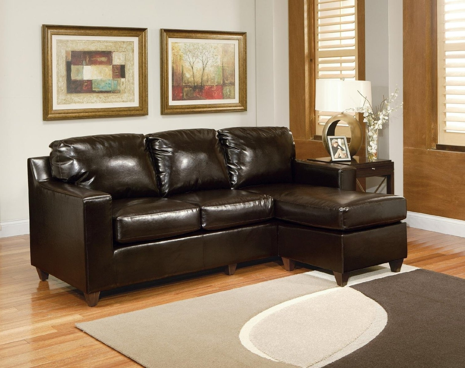 Sofa : Small Scale Sofa With Chaise Loveseat Loveseats For Small Intended For Most Popular Narrow Spaces Sectional Sofas (View 14 of 20)