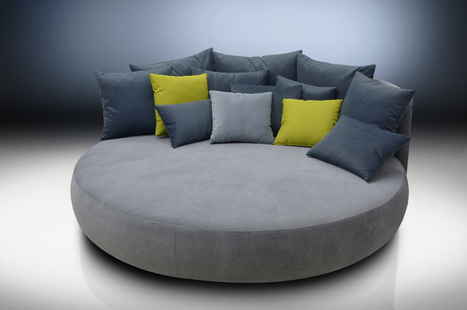 Showing Photos Of Round Sofas View 7
