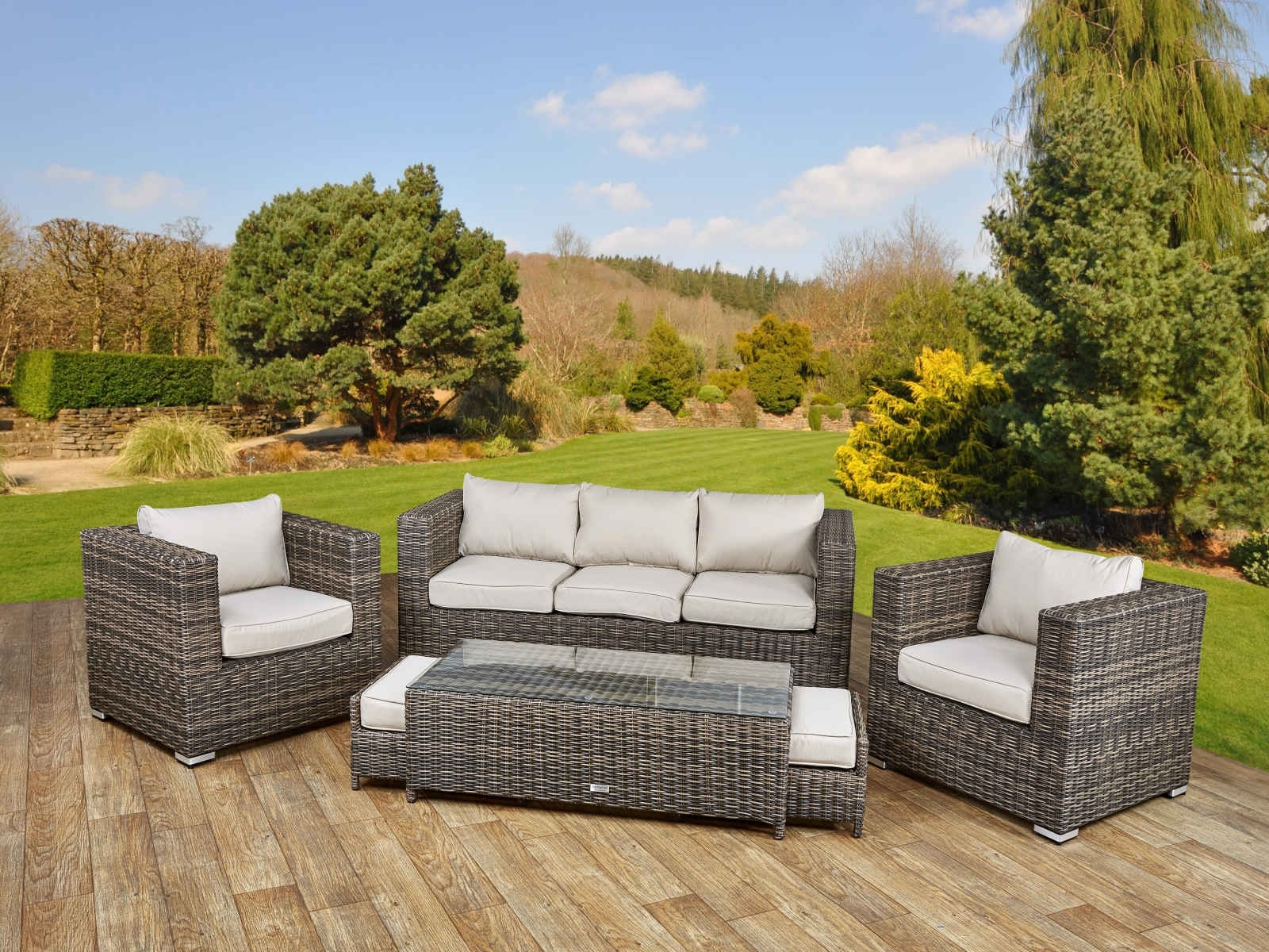 Sofa : Tosh Furniture Outdoor Gray Sofa Set Fantastic Furniture Inside Fashionable Outdoor Sofa Chairs (View 16 of 20)