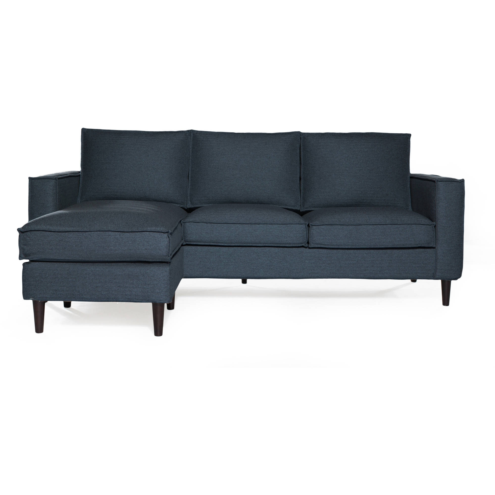 Sofas & Couches – Walmart Intended For Popular Sectional Sofas Under (View 9 of 20)