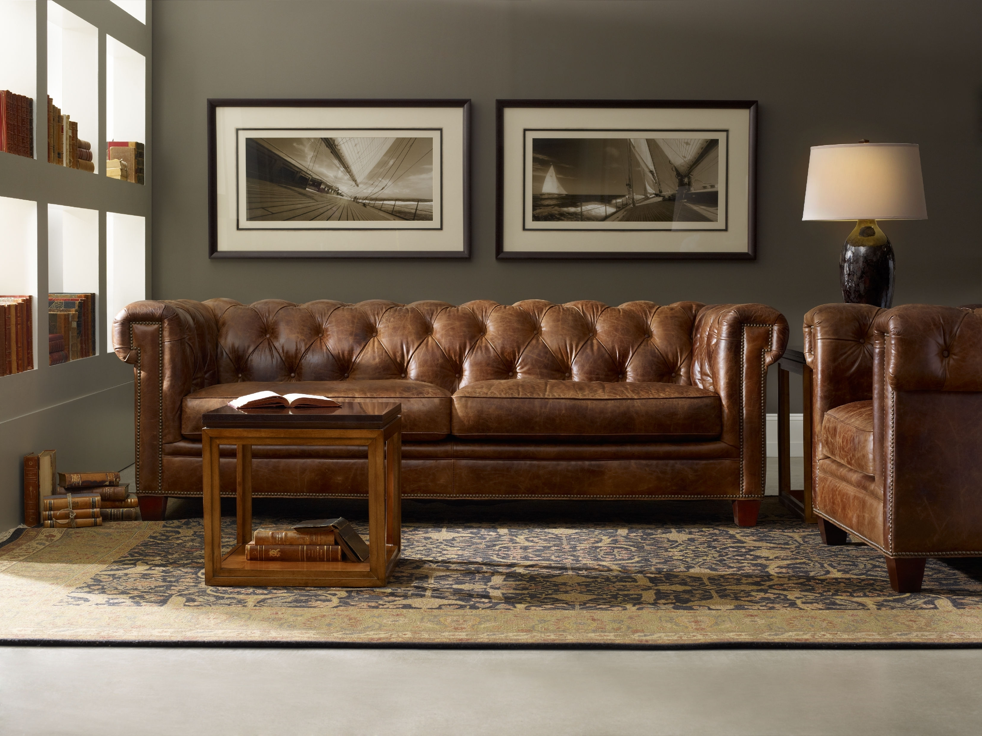 Pottery Barn Chesterfield Leather Sofa Reviews | Two Birds ...