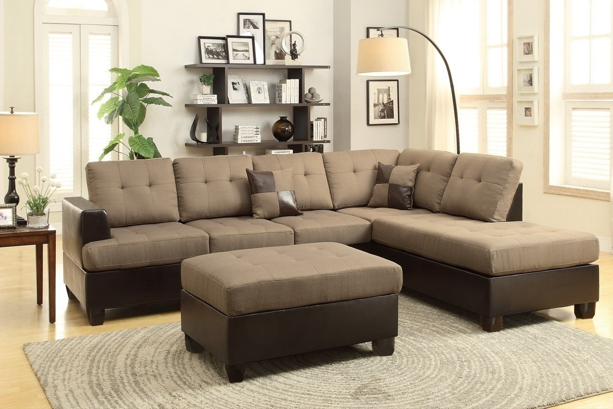 Sofas With Ottoman Inside Well Known Perfect Couch Ottoman 17 For Sofas And Couches Set With Couch Ottoman (View 20 of 20)