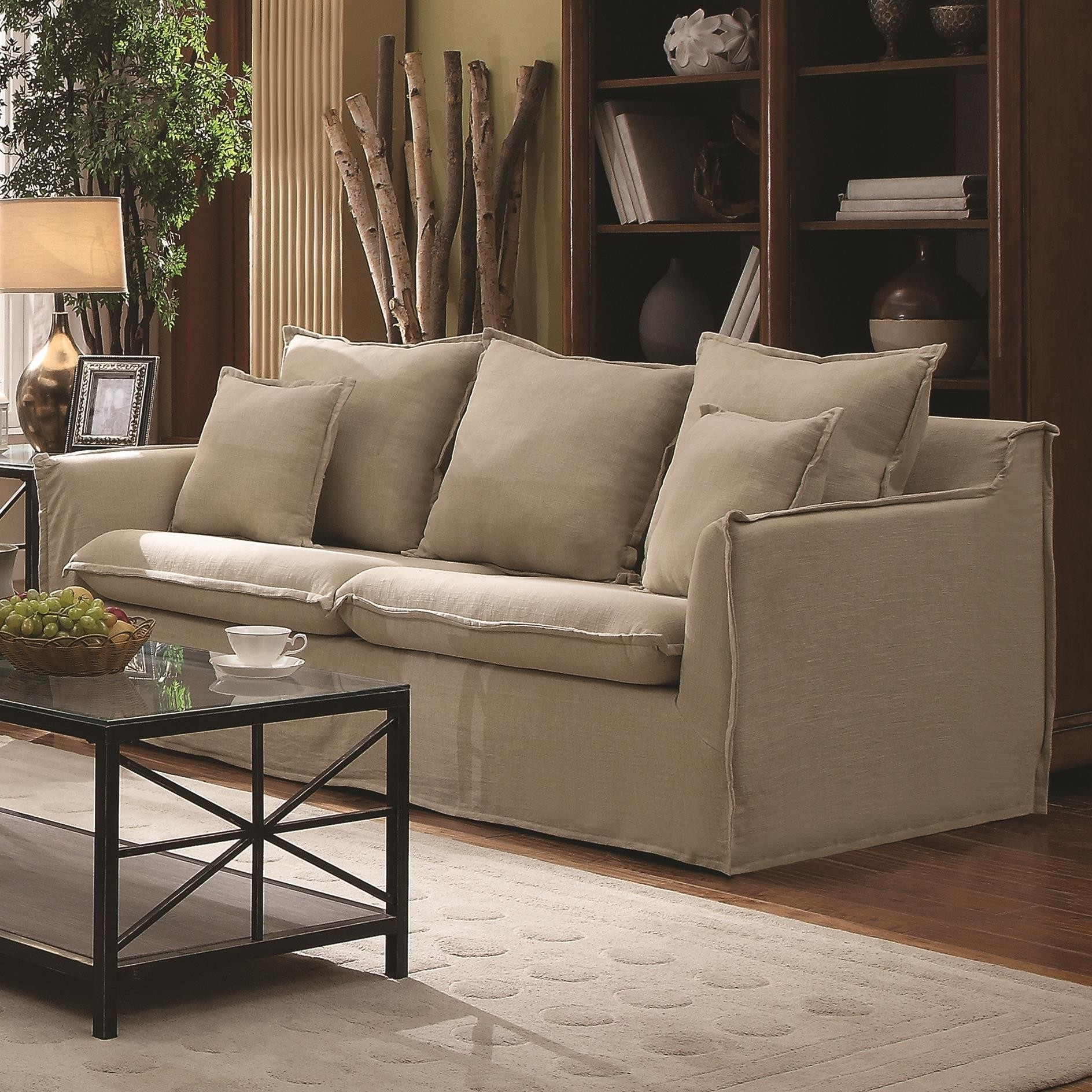 Sofas With Washable Slipcovers – Nrhcares In Most Popular Washable Sofas (View 5 of 20)