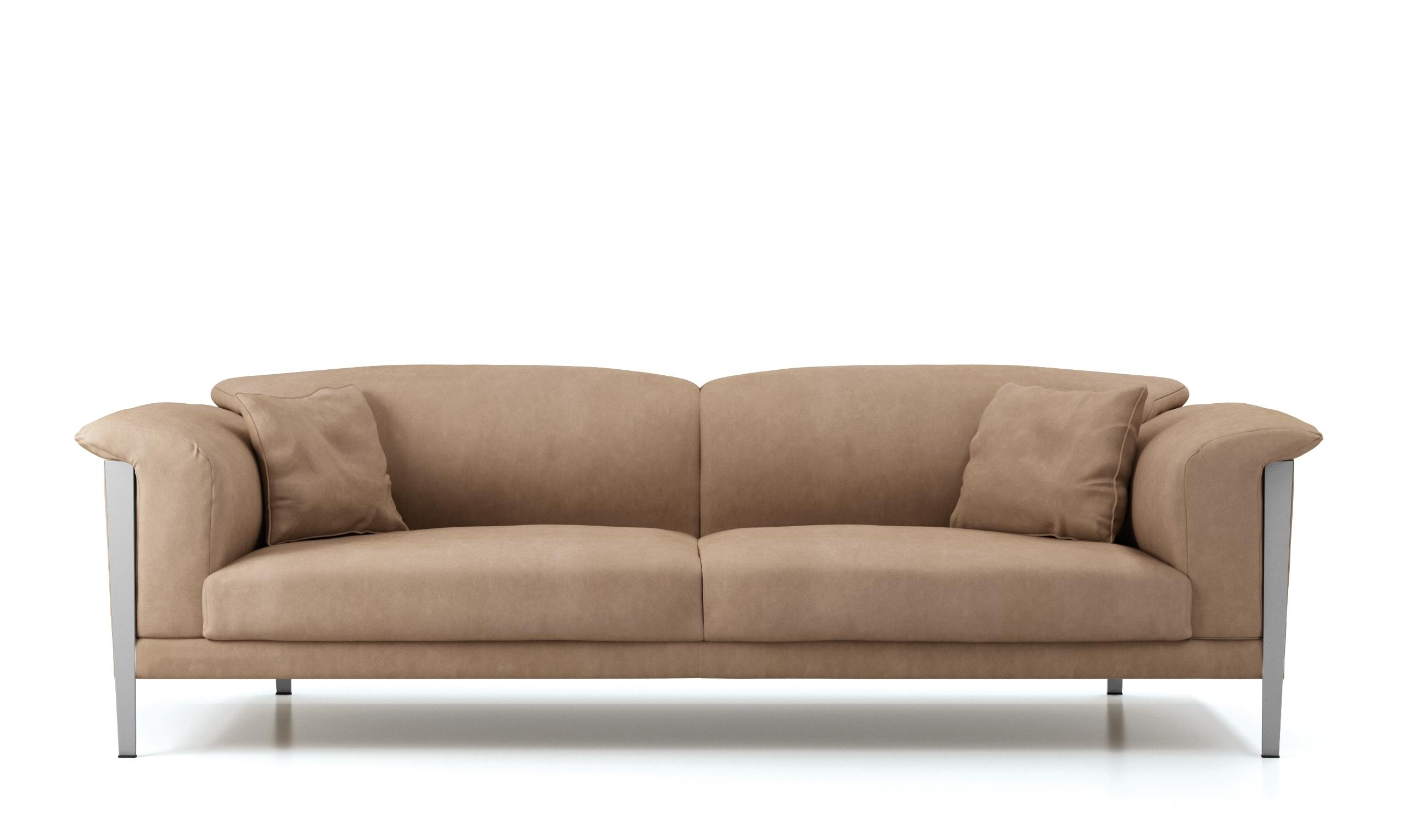 Soft Sofas Regarding Newest Cream Color Extra Soft Padded Leather Sofa Set Sacramento (View 15 of 20)