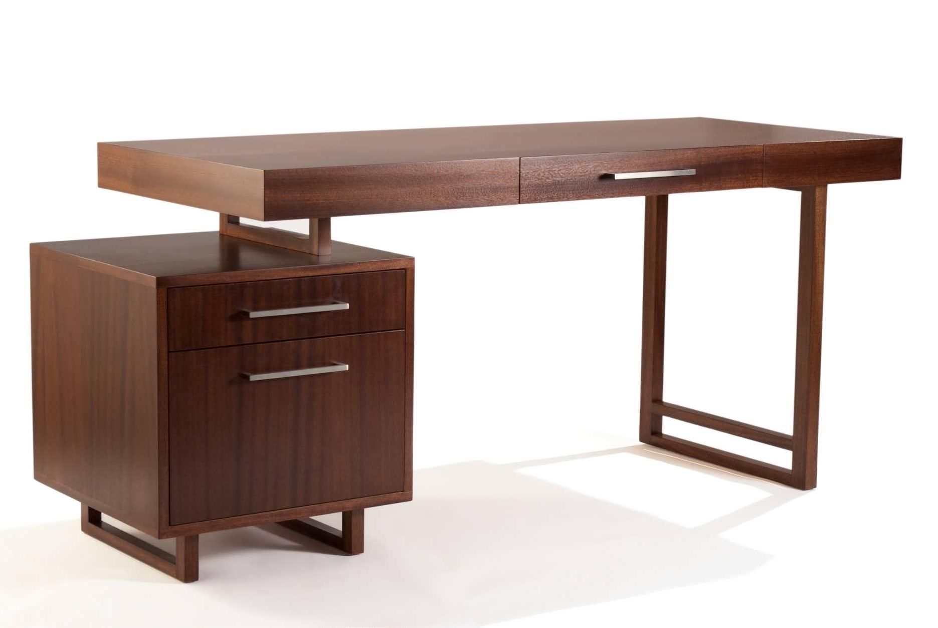 Solid Wood Computer Desks Regarding Preferred Office Desk : Large Oak Desk Small Wood Computer Desk Solid Oak (Gallery 17 of 20)