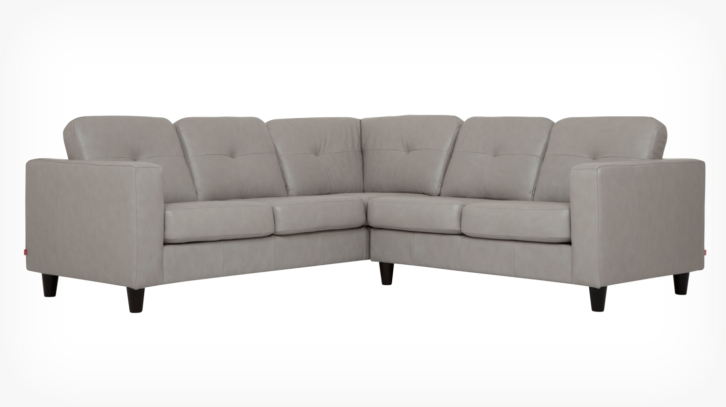 Solo 2 Piece Sectional Sofa – Leather Intended For Eq3 Sectional Sofas (View 18 of 20)