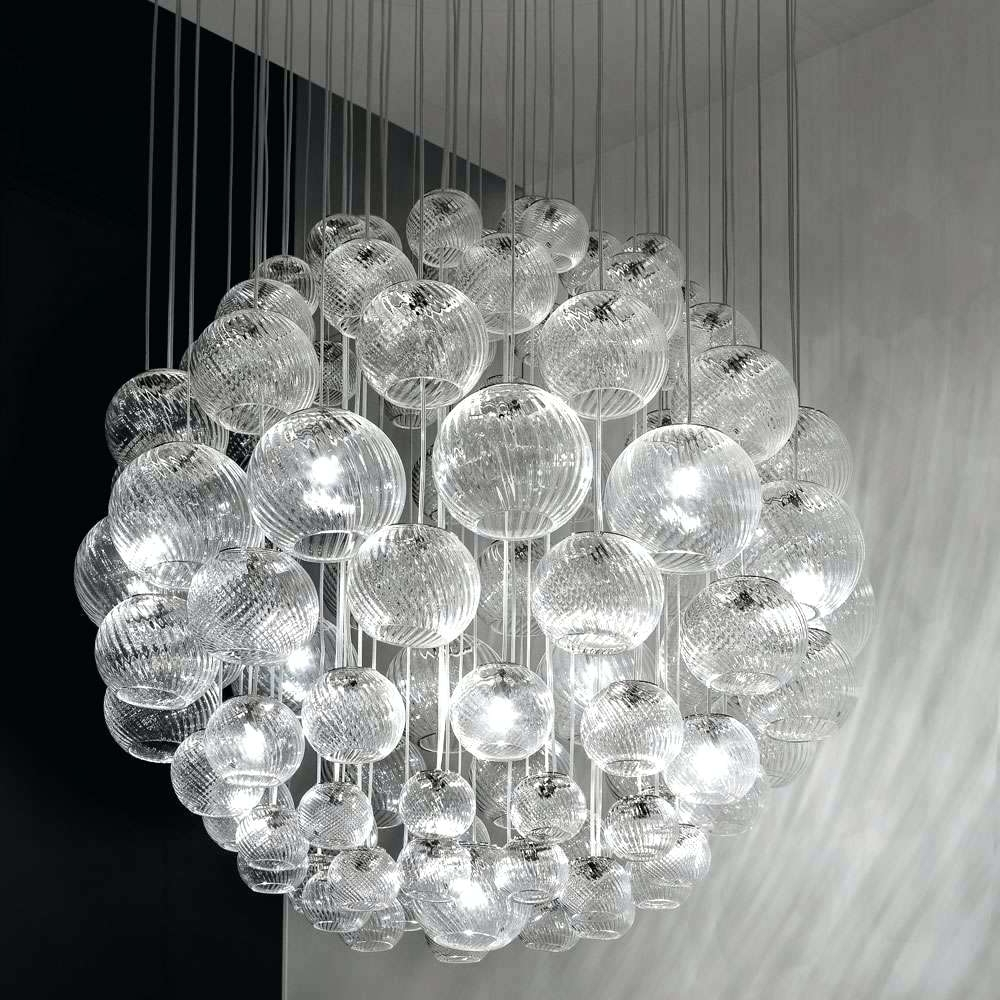 Sphere Chandelier For Newest Light : Sphere Chandelier With Crystals Oto Sp Modern Chandeliers (View 14 of 20)
