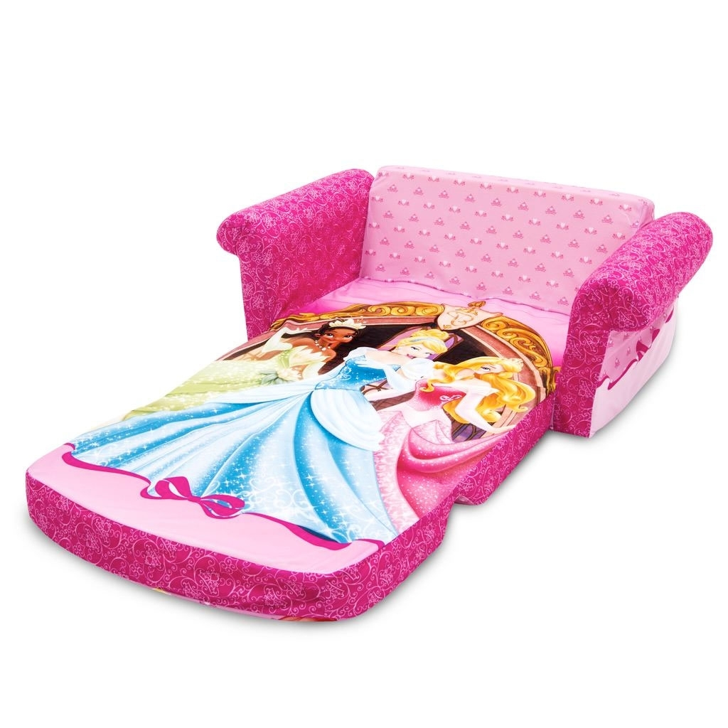 Spin Master – Marshmallow Furniture Flip Open Sofa Disney Princess In Most Recent Disney Sofa Chairs (View 11 of 20)