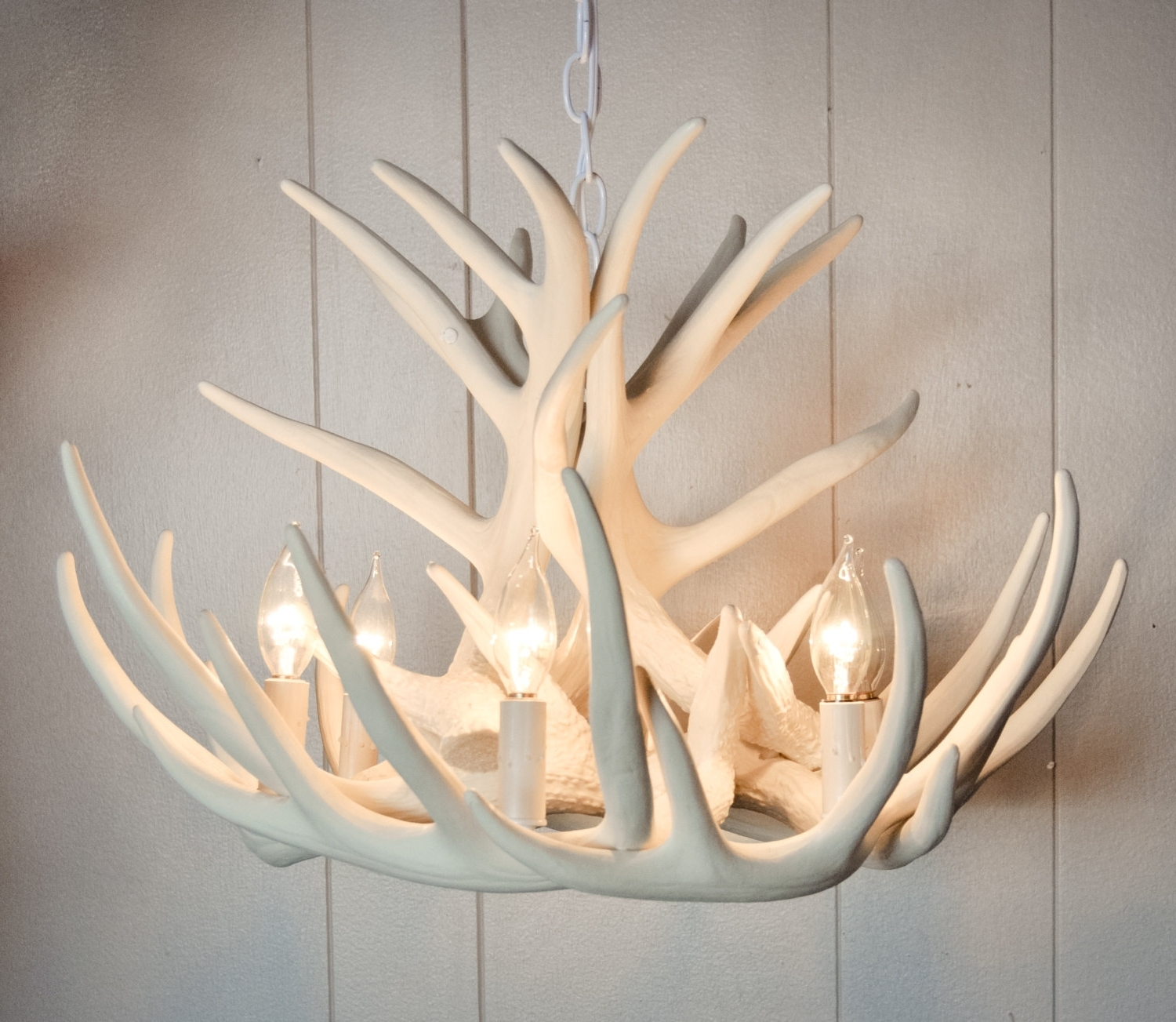 Stag Horn Chandelier With Regard To Most Recent Making Your Own Antler Chandelier – Bestartisticinteriors (View 11 of 20)