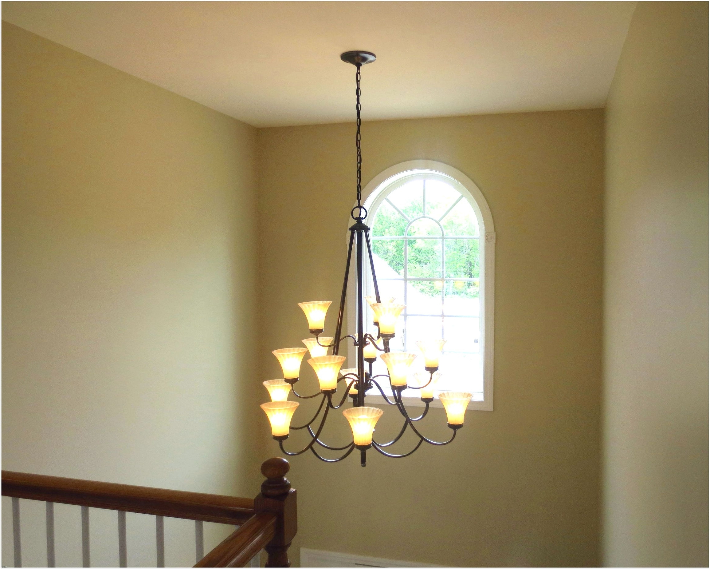 Stairwell Chandelier Intended For Well Known Stairwell Chandelier Lighting – Chandelier Designs (View 10 of 20)