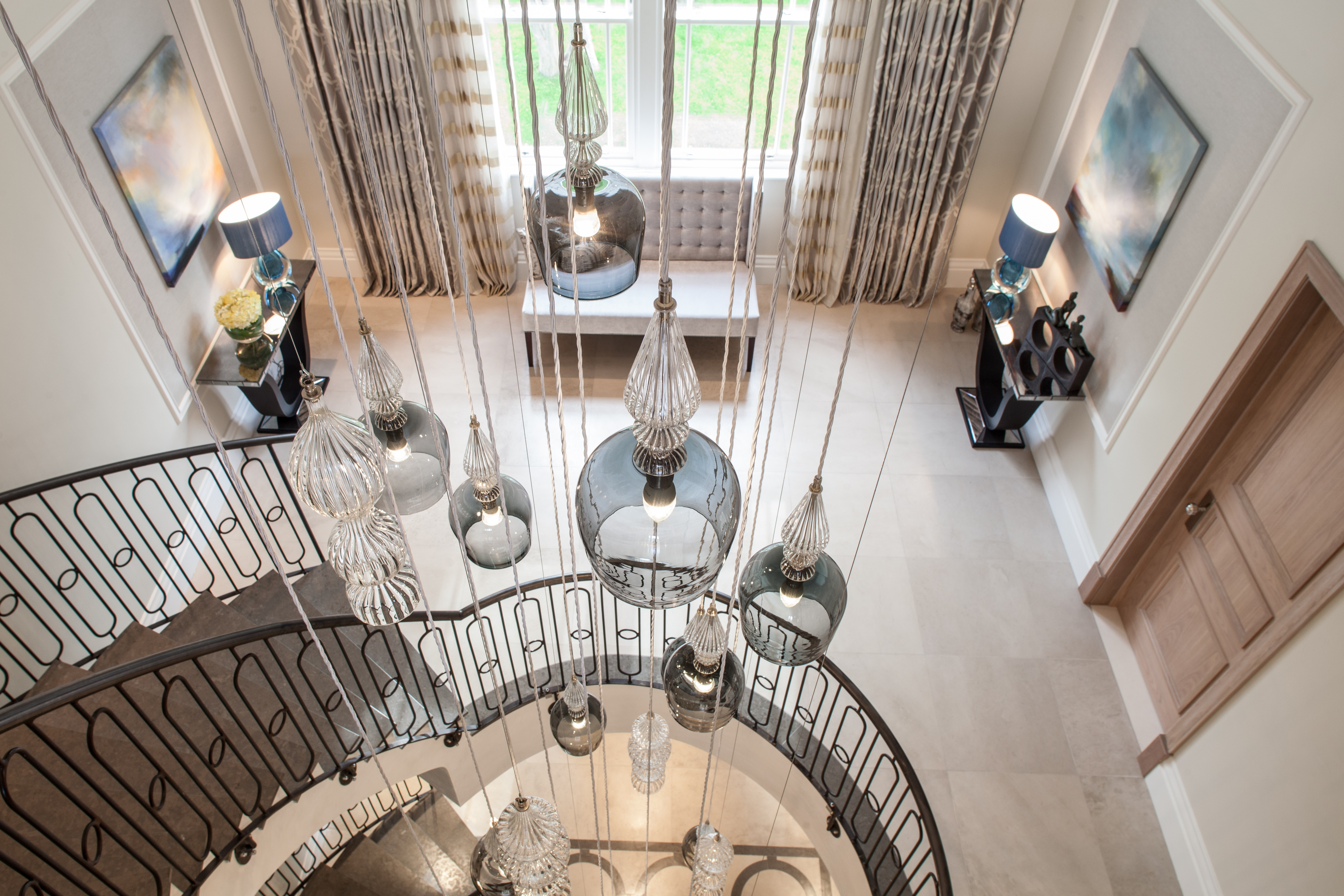 Stairwell Chandelier With Fashionable Download Images: In Situ – Rothschild & Bickers (View 15 of 20)