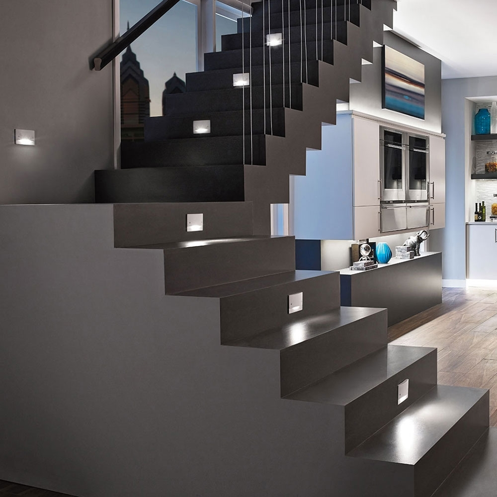 Stairwell Chandeliers Throughout Most Recently Released Ideas For Hallway Lighting And Stair Lighting (View 15 of 20)