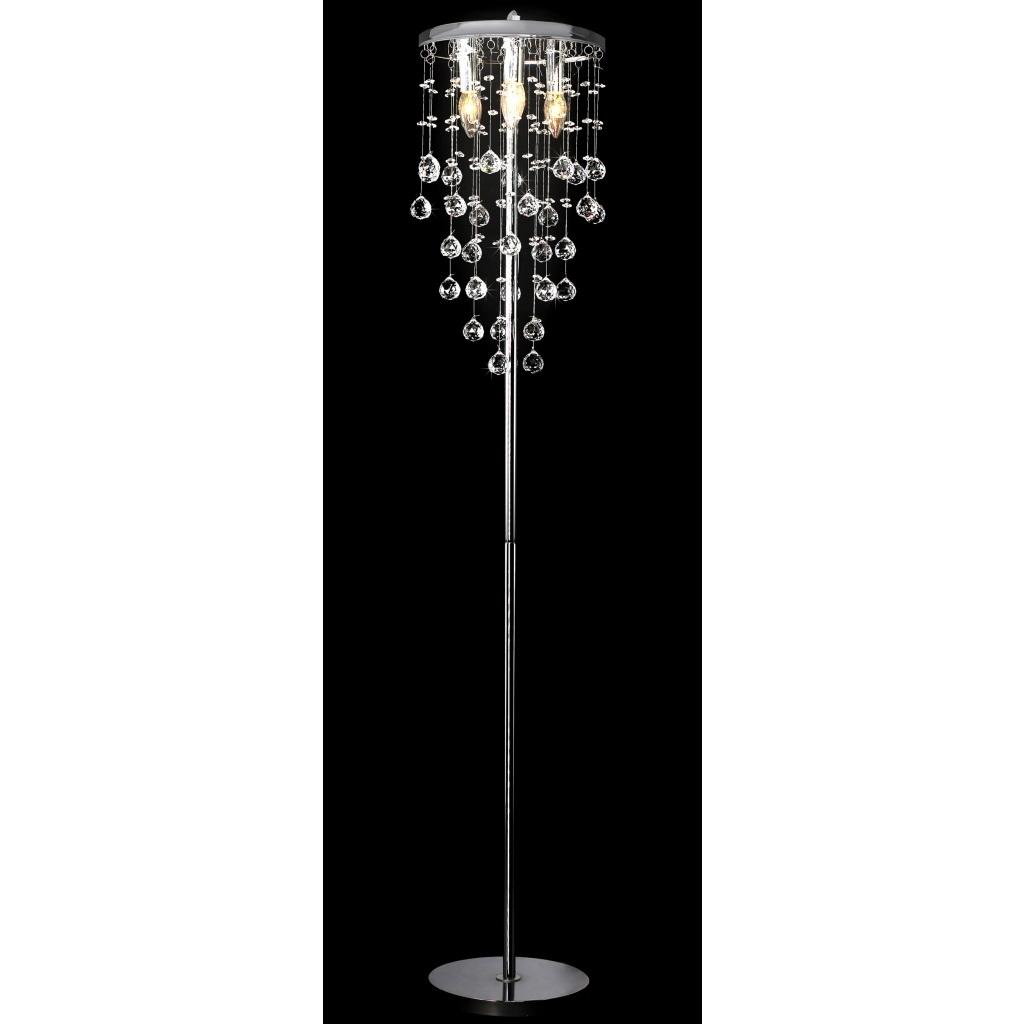 Standing Chandelier Floor Lamps Pertaining To Famous Chandelier Floor Lamp Awesome (View 14 of 20)