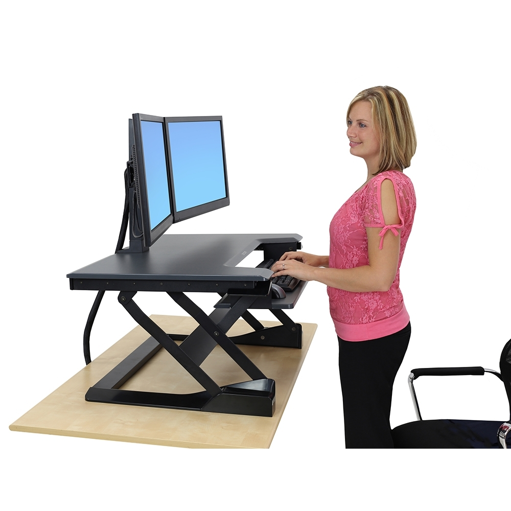 Standing Computer Desks With Widely Used Ergonomic Standing Desks (View 18 of 20)