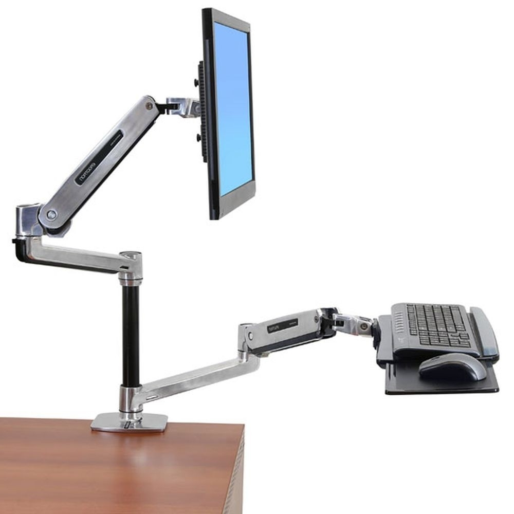 Standing Desks Regarding Fashionable Computer Desks With Monitor Mount (View 18 of 20)