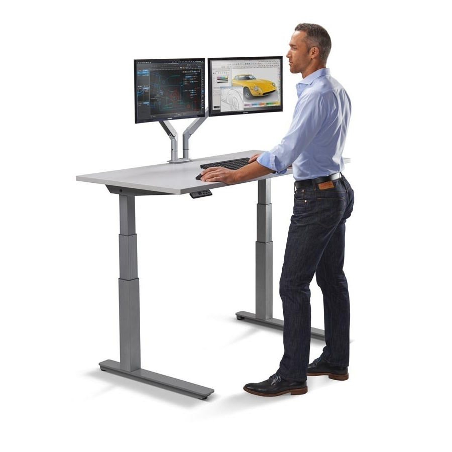 Standing Workstation (View 8 of 20)