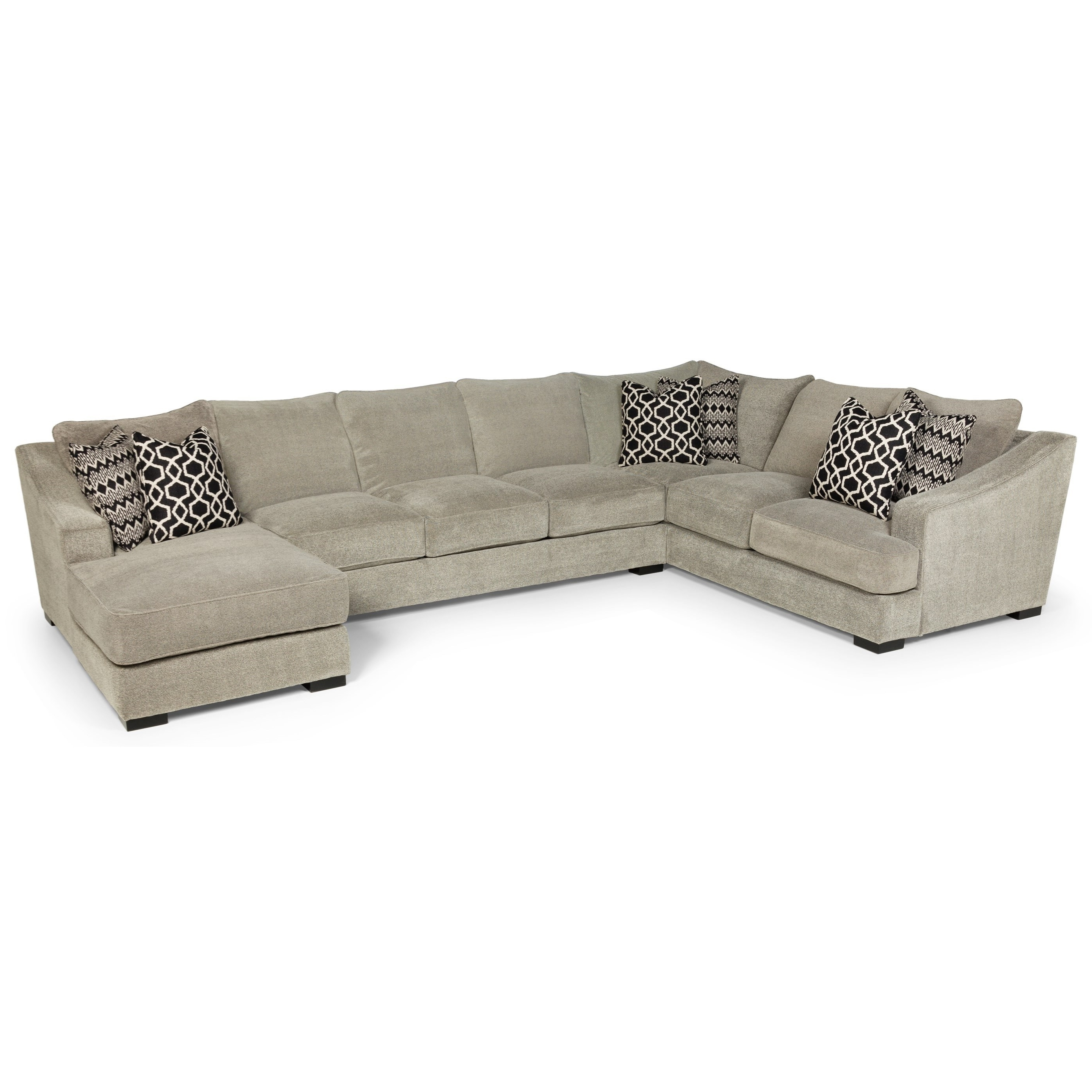 Stanton 338 Casual Three Piece Sectional Sofa With Deep Seats Within Best And Newest Eugene Oregon Sectional Sofas (View 8 of 20)