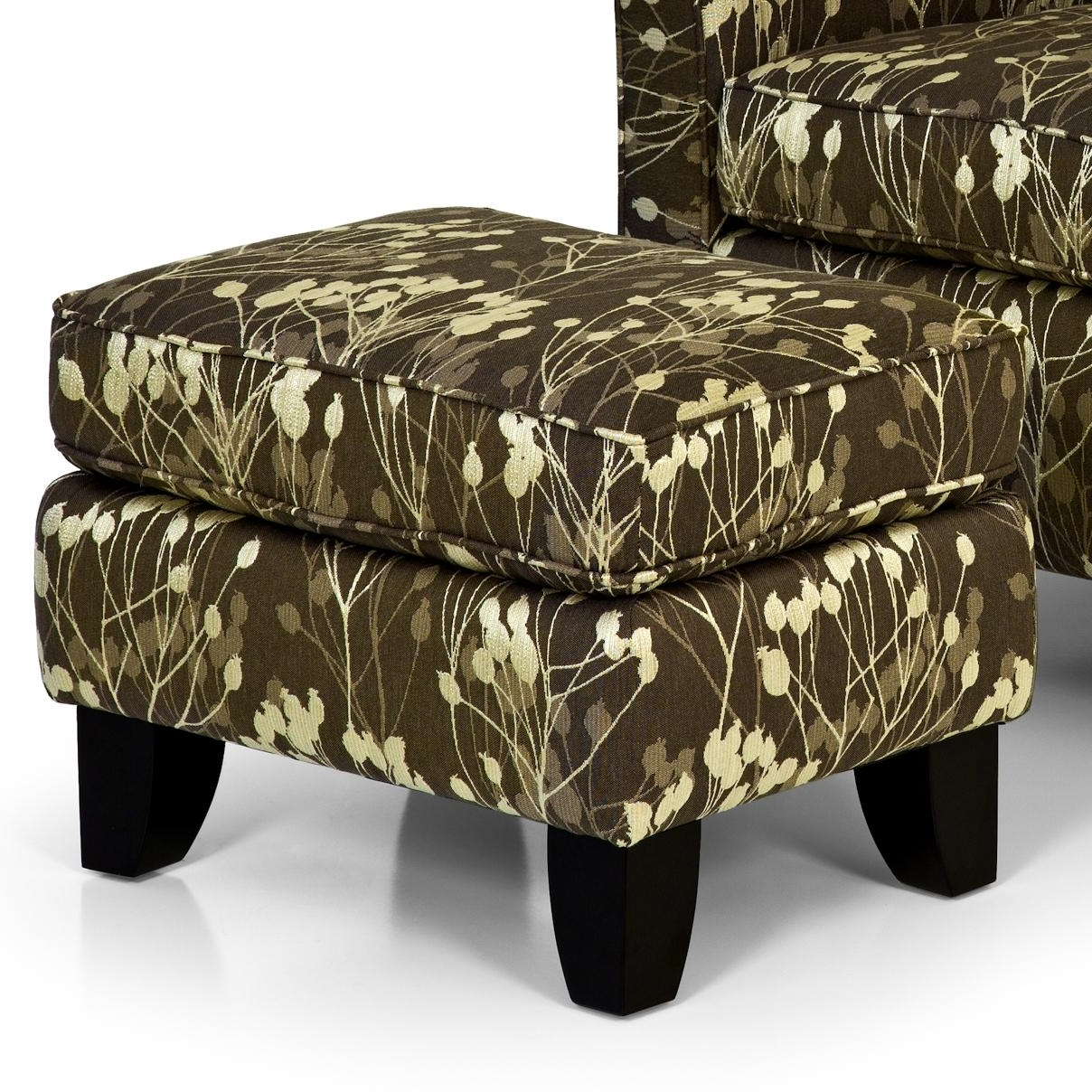 Stanton Accent Chairs And Ottomans Contemporary Accent Chair Throughout Favorite Chairs With Ottoman (View 14 of 20)