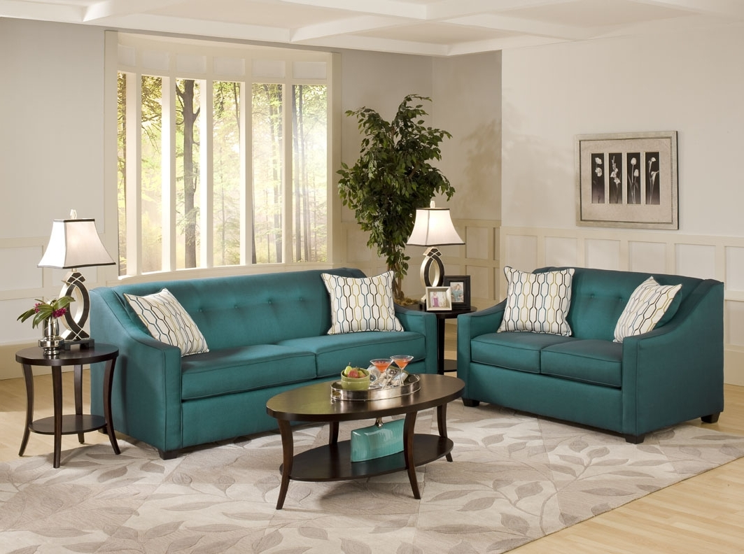 Stoked Peacock Sofa – Mcgregors Furniture Intended For Most Recent Turquoise Sofas (View 6 of 20)