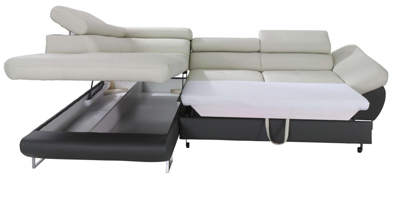 Storage Sofas With Regard To Trendy Fabio Sectional Sofa Sleeper With Storage (View 8 of 20)