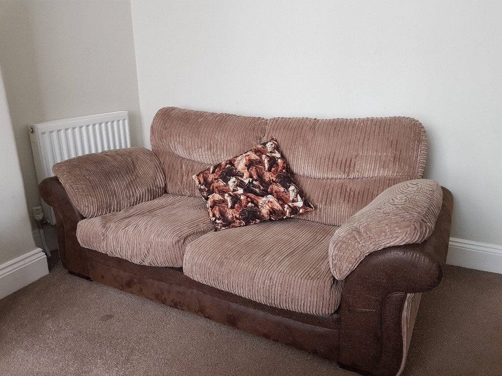 Stratford Sofas In 2018 Two 2 Seater Sofas And Matching Storage Foot Stool (View 14 of 20)