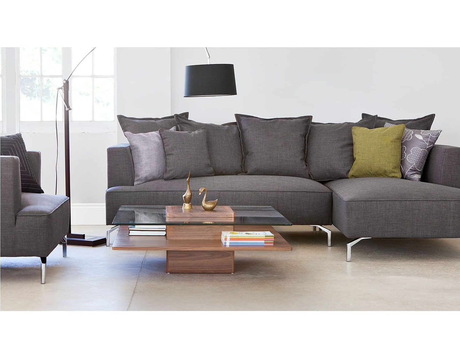 Structube Sectional Sofas Inside Well Liked Structube – Lighting : Floor Lamps : Curva (dark Brown) (View 13 of 20)