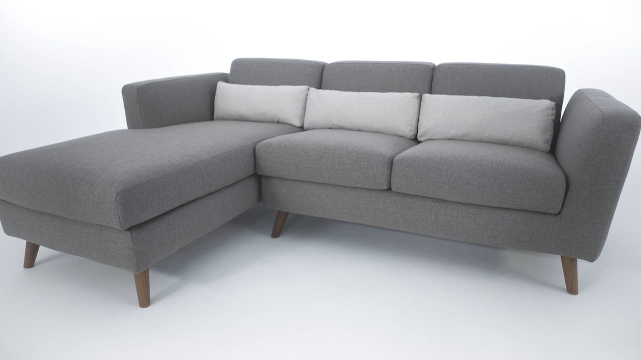 Structube Sectional Sofas Intended For Most Recently Released The Taylor Sectional Sofa – Structube On Vimeo (View 7 of 20)