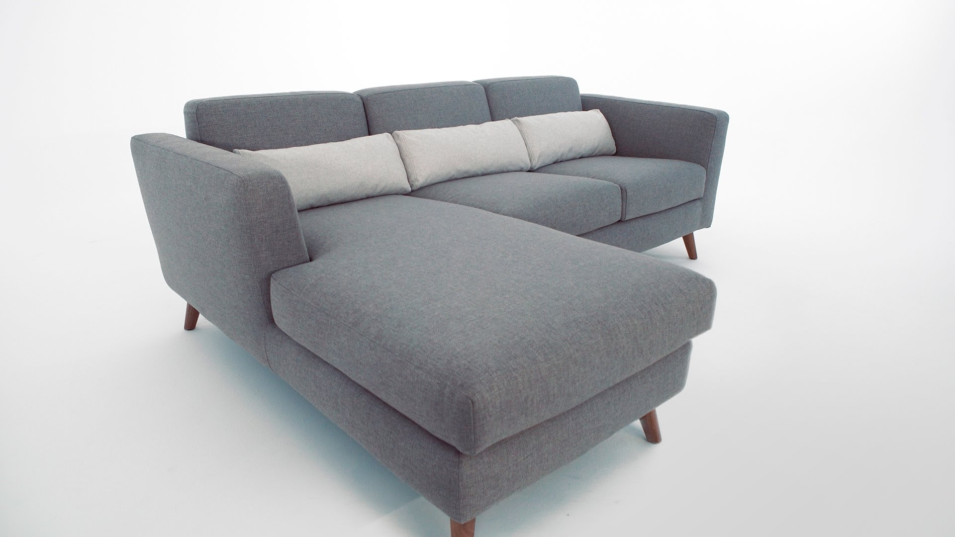 Structube Sectional Sofas Intended For Preferred The Taylor Sectional Sofa – Structube – Youtube (View 8 of 20)