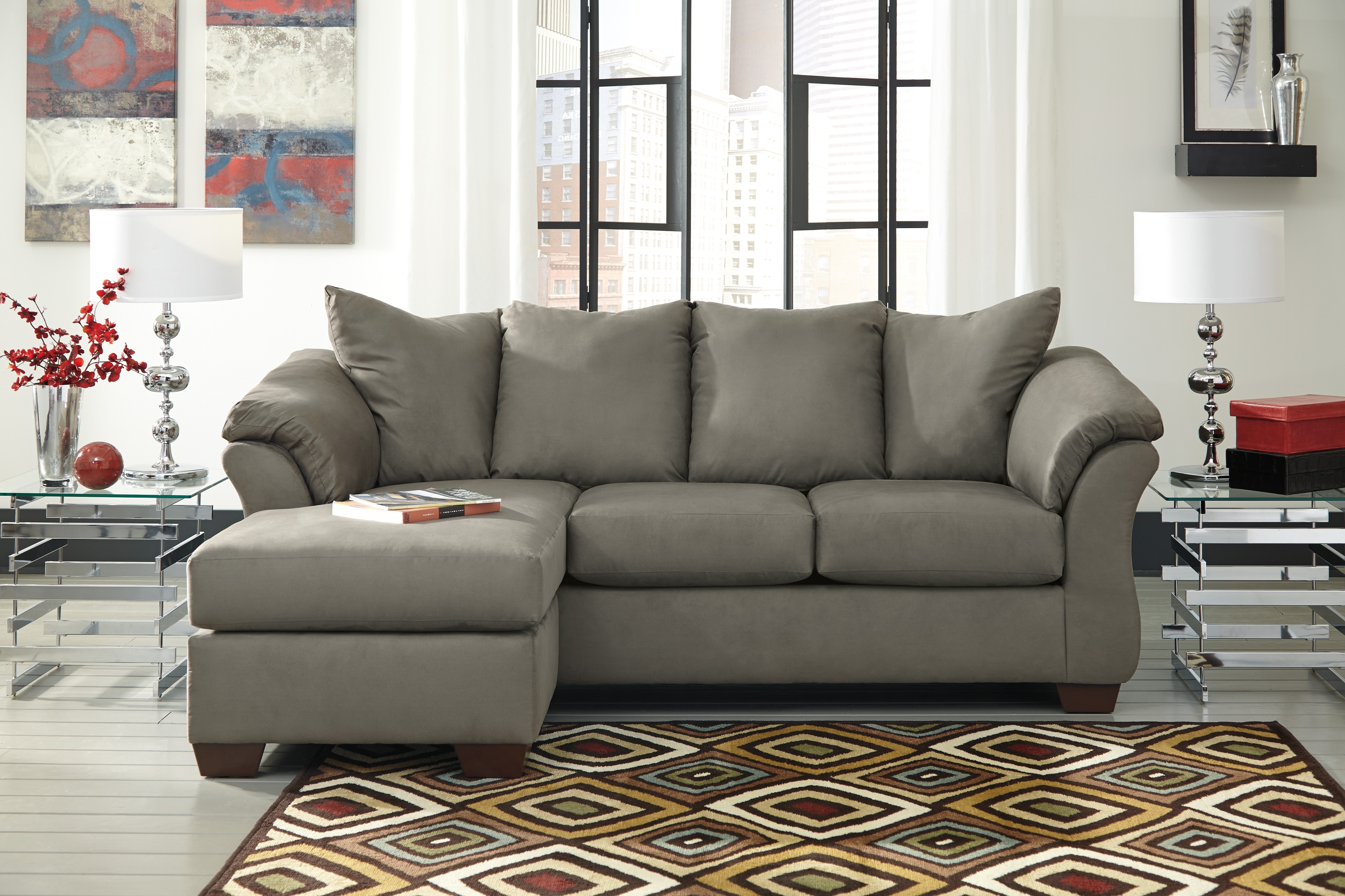 Stunning Gray Sectional Sofa Ashley Furniture 17 About Remodel With Most Recent Sectional Sofas At Ashley (View 15 of 20)