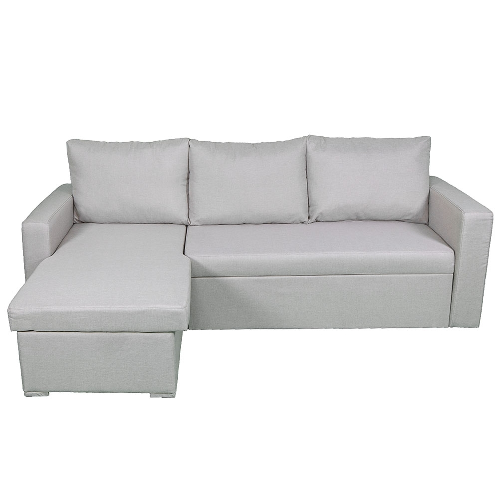 Sydney Sectional Sleeper In Beige Intended For Well Known Sydney Sectional Sofas (View 13 of 20)
