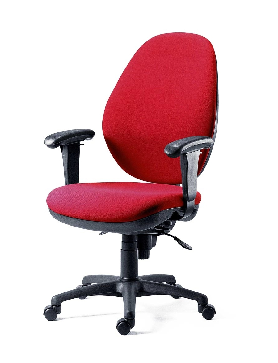 Syncro Tek Executive 24 Hour Use Office Chair With Adjustable Arms In Latest Executive Office Chairs With Adjustable Arms (View 16 of 20)