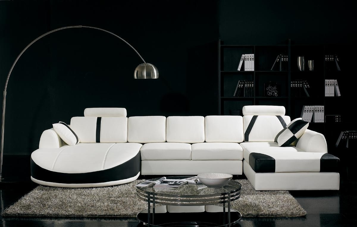 T57b Ultra Modern Sectional Sofa Intended For Favorite Miami Sectional Sofas (View 8 of 20)