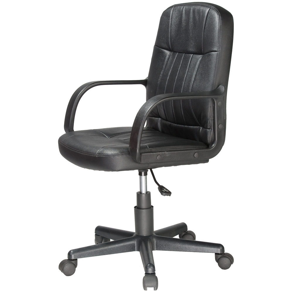 Tan Brown Mid Back Executive Office Chairs With Regard To Popular Mid Back Leather Office Chair – Comfort Products (View 11 of 20)
