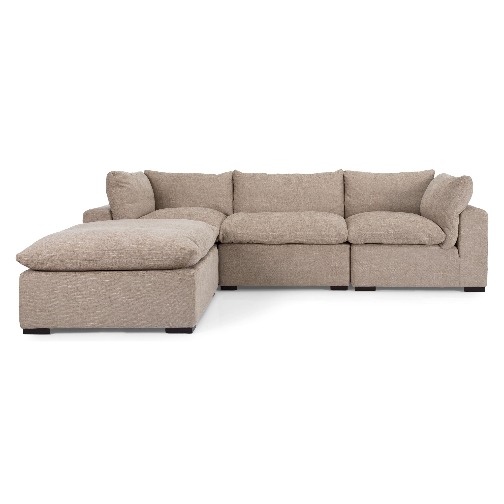 Teppermans Sectional Sofas For Most Popular Cathar 4Pc Sectional (View 18 of 20)