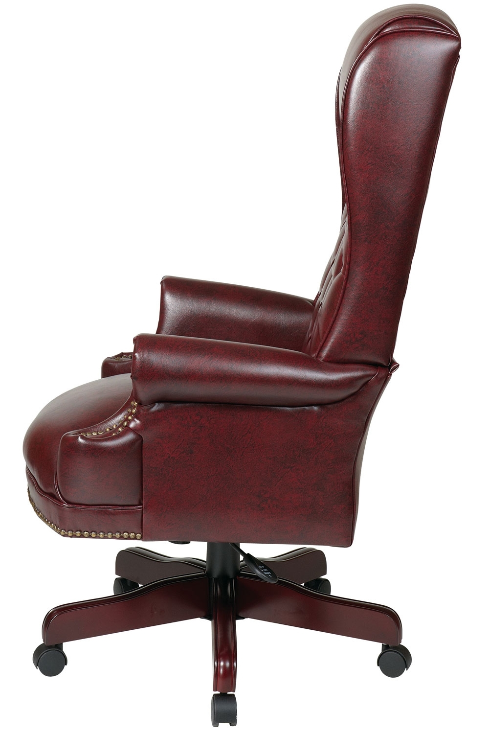 Tex228 Jt4 Office Star – Deluxe High Back Traditional Executive Pertaining To Well Known Executive Office Side Chairs (View 2 of 20)