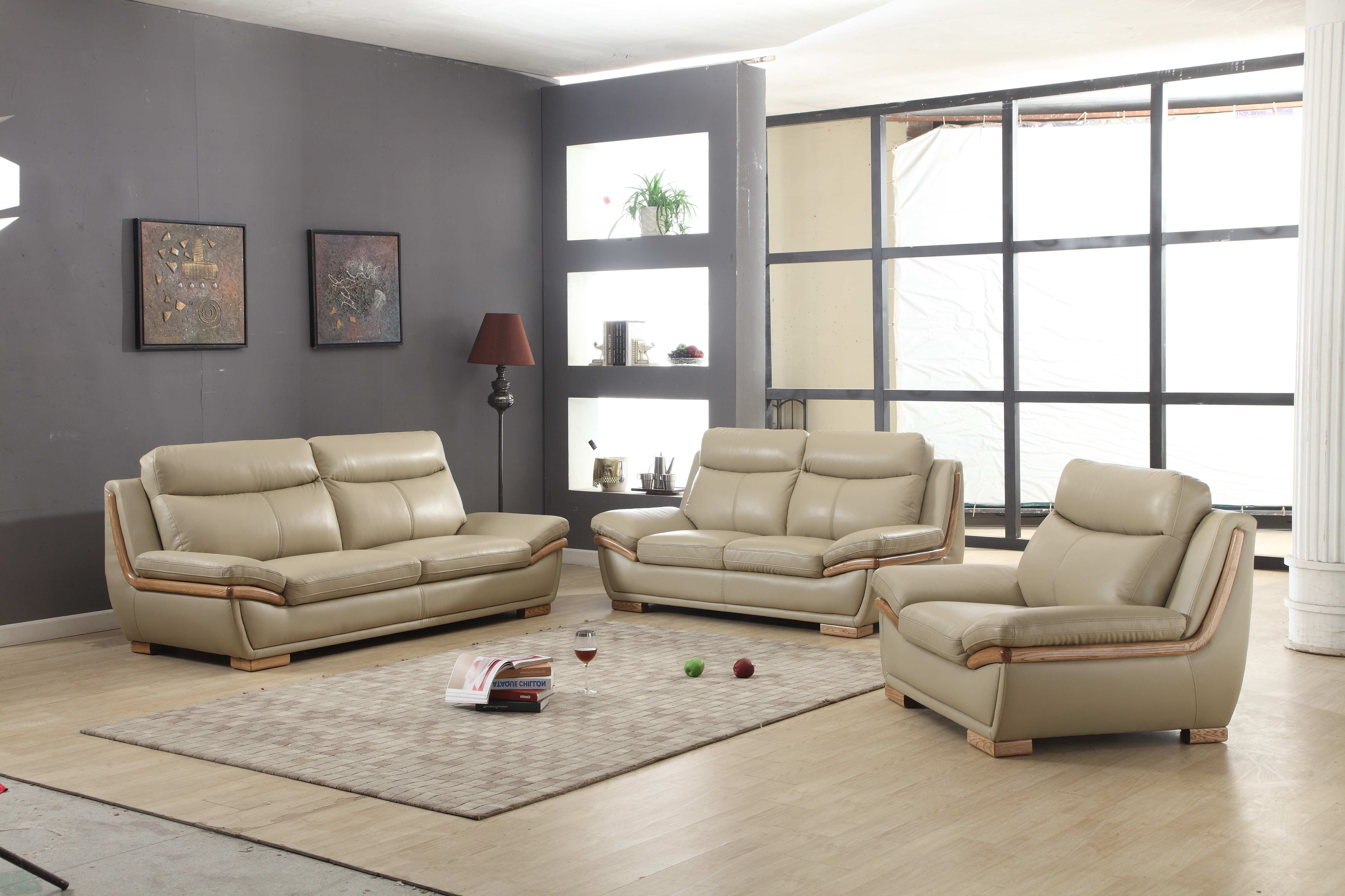The Brick Leather Sofas In Most Current Modern Leather Sofa Black Bed Sleeper (View 16 of 20)