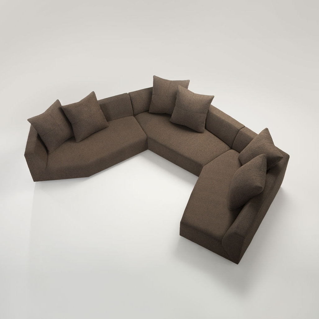 The Comfort Is Amazing In Your Living Room With Honeycomb Three Inside Preferred Small Modular Sectional Sofas (View 20 of 20)