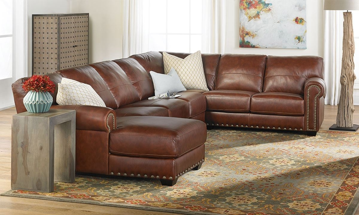 The Dump Intended For Most Up To Date Leather Sectional Sofas (View 6 of 20)