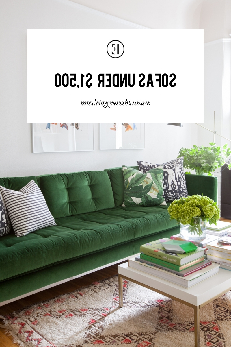 The Everygirl Throughout Sectional Sofas Under  (View 15 of 20)