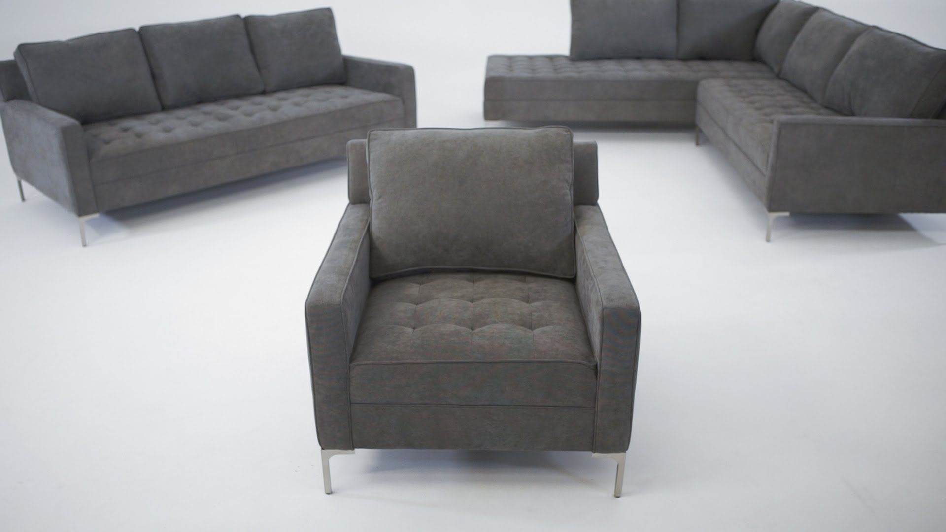 The Miami Collection – Structube – Youtube With Popular Miami Sectional Sofas (View 18 of 20)