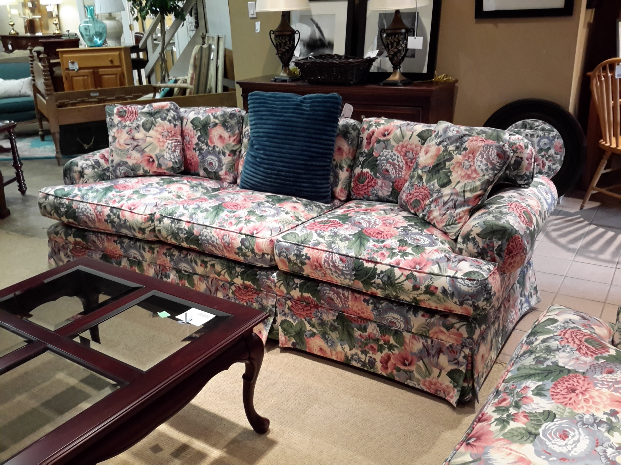 The Millionaire's Daughter Pertaining To Widely Used Chintz Covered Sofas (View 16 of 20)