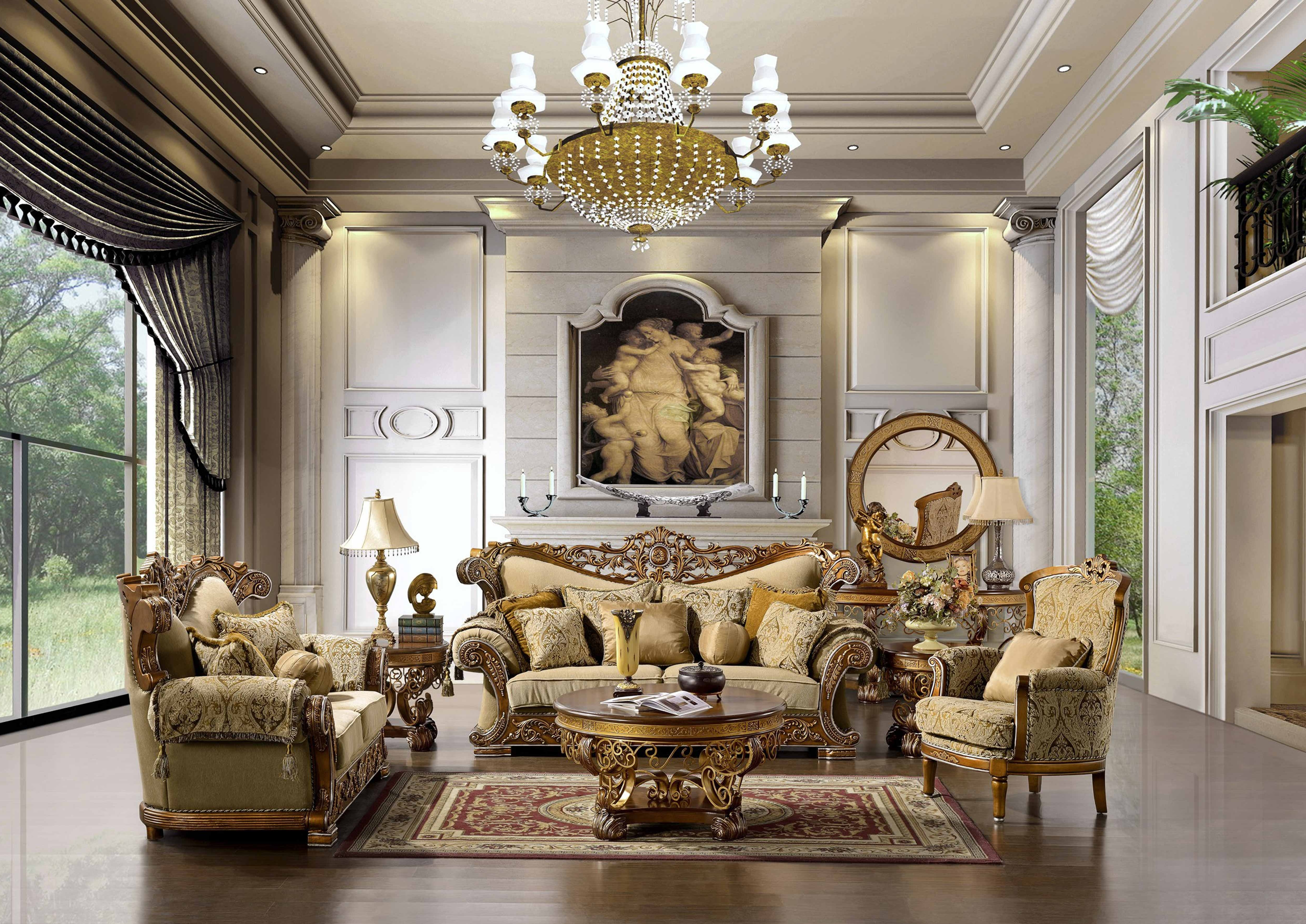 The Space Is Big And Has A Luxurious And Elegant Shapes And Large For Fashionable Elegant Sofas And Chairs (View 3 of 20)