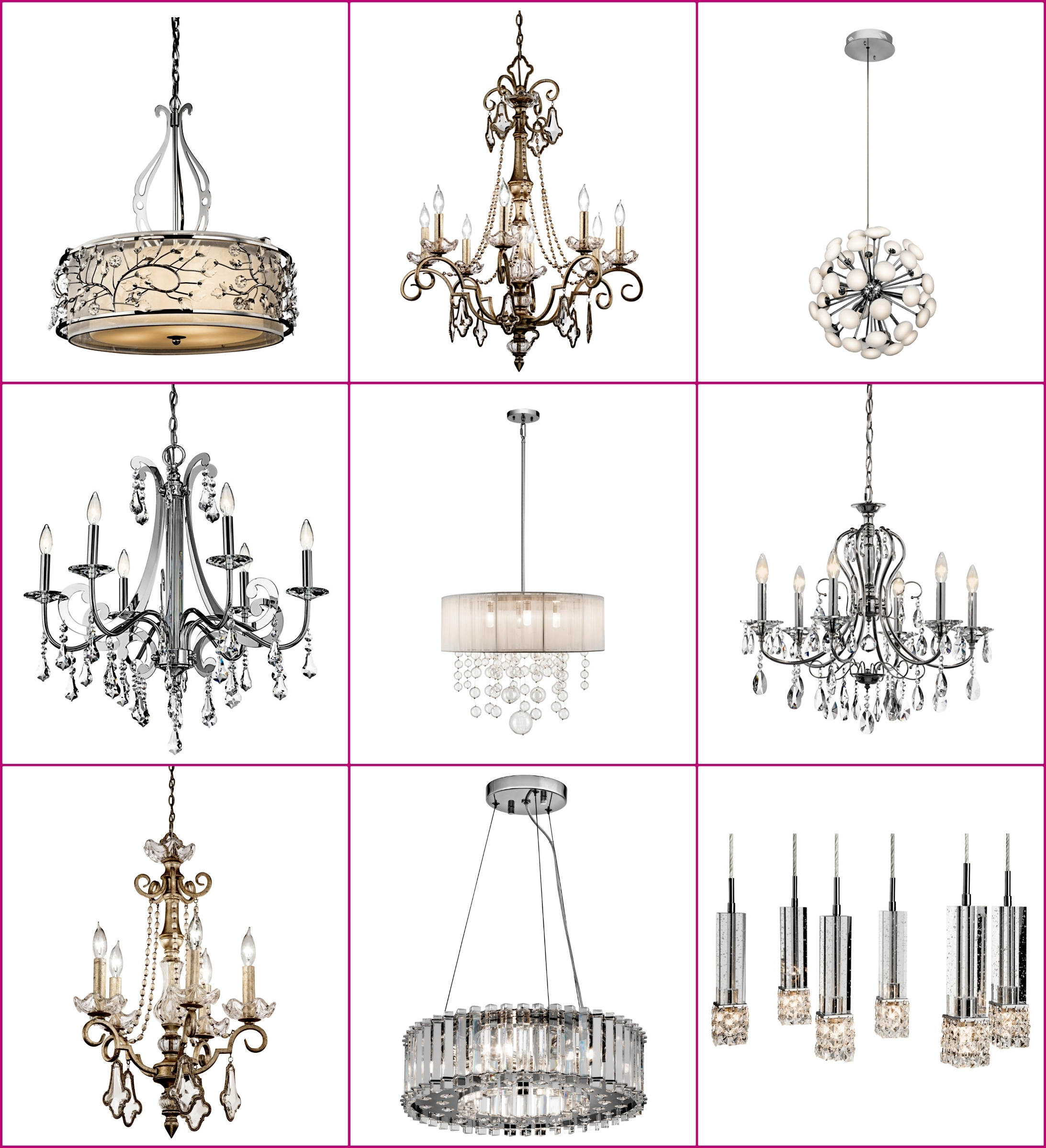 This Shop Is Interior Design's Hidden Gem! Great Deals On Glamorous With Most Recently Released Trendy Chandeliers (View 7 of 20)