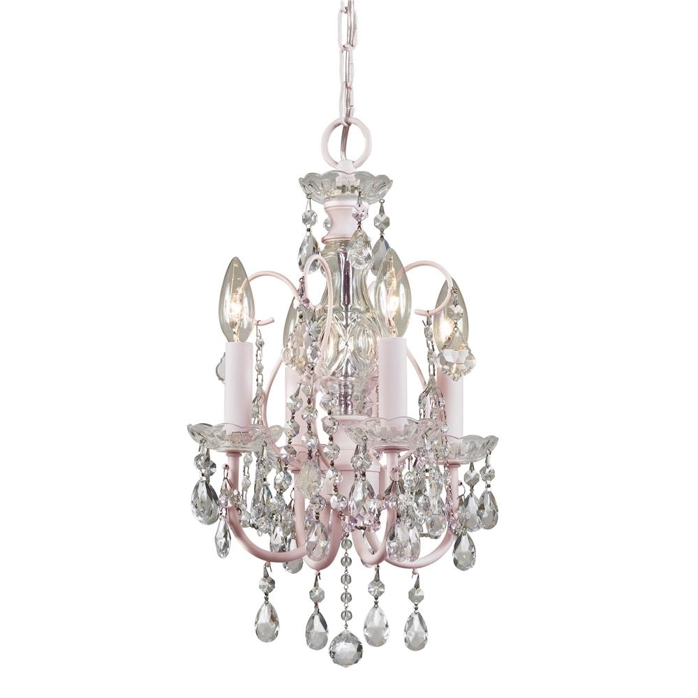 Tiny Chandeliers Throughout Most Up To Date Chandeliers Design : Magnificent Uncategorized Small Crystal (View 15 of 20)