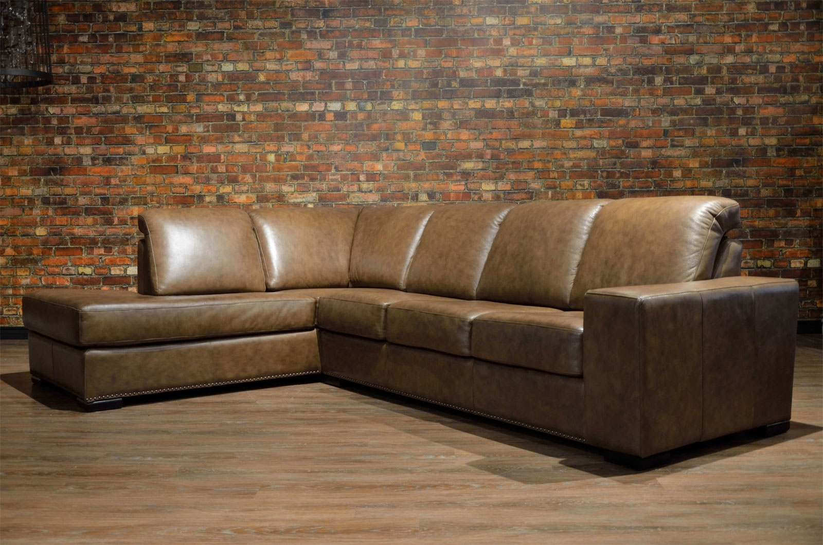 Toronto's Premier Custom Leather Sofas. Made In Canada (View 15 of 20)