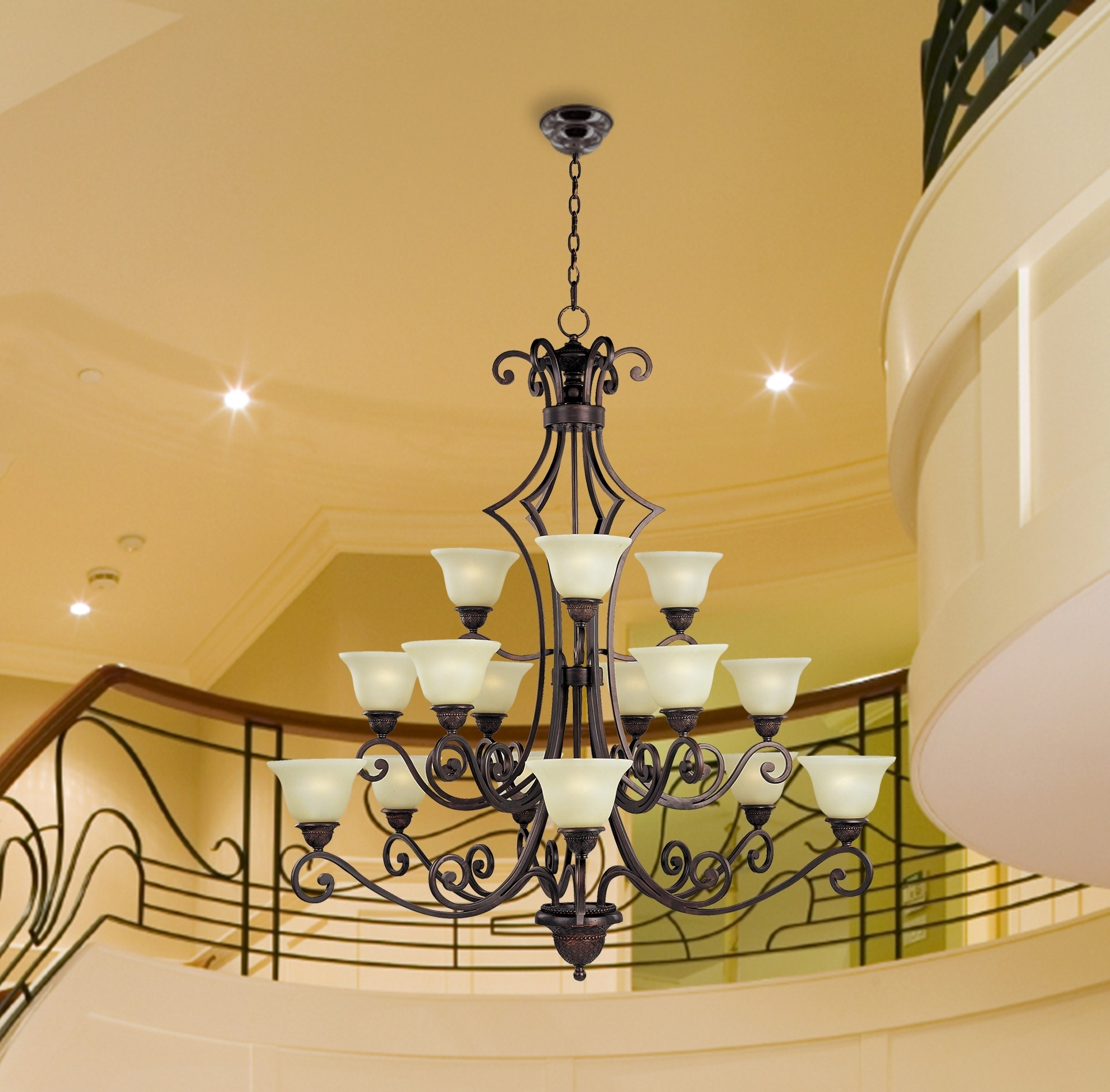 Traditional Chandelier Inside 2018 Gorgeous Traditional Chandelier Lighting Lighting Foyer Chandelier (View 2 of 20)
